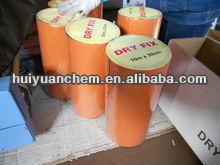 self adhesive bitumen tape with aluminium surface, self adhesive asphalt roofing waterproof flashing tape