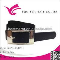 Yiwu Yilu PU lady belt with rectangle buckle