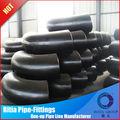Acero al carbono de soldadura latrolet instalación de tuberías ansib16.9 codo