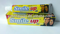 Sonrisa hasta de limón con sabor a menta, natural mejor pasta de dientes