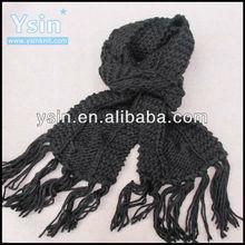 fashion arabesquitic knitted ladies winter shawl