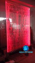 Water bubble Curtain. Floor Bubble Aquarium.