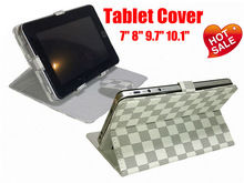 """Leather case for iPad 9 inch tablet pc, PC Tablet Case Size available 7"""" 8"""" 9.7"""" 10.1"""""""