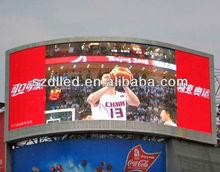 Alibaba express P10 large football/soccer led stadium tv display screen