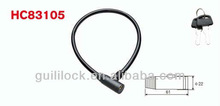 HC83105 Bicycle Steel Wire Lock