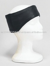 HMB-095 LEATHER HEAD BAND EARS FORHEAD COVERS HATS CAP