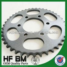 1045 Steel Bajaj Discover Pinions Galvanized Motorcycle Transmissions, Motor Bike Sprockets Bajaj China Manufactory