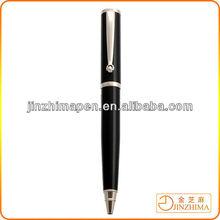 Good quality ballpoint pen business gift metal wheel clip ball pen for promotion