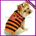 Mano moda lindo de punto suéter perro de mascota