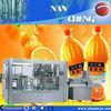 CE, TUV ! automatic 18-18-6 R 3-in-1 fruit orange juice filling machine for 500ML pet bottle