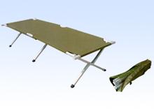 aluminium frame folding camping bed