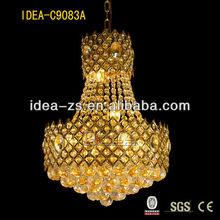 chrome candle chandelier custom candels creative ideas C9083A