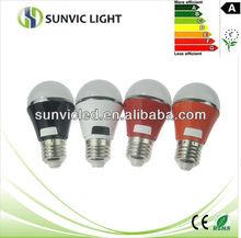 LED manufacturer Colorful Plastic led card bulb e27