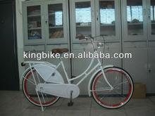 """28"""" oma bike holland ladies bicycle white dutch bike KB-OMA-W21"""