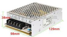 50W 15V dc High Efficiency Single output ac dc SMPS
