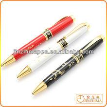 Engraved metal pen, promotional gift ballpoint pen
