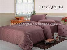 home textile,bedding set,hotel,100% Cotton Satin Stripe Bed Sheets SetHT-YCSJBS-03