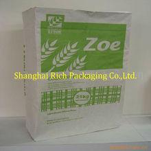 wheat flour paper sack
