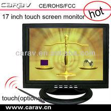 "Restaurant POS using 15"" dvi touch screen monitor with PC standard VGA/DVI/HDMI interface"