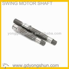 Kobelco excavator spare part SK200-6E swing motor shaft YN15V00025S101
