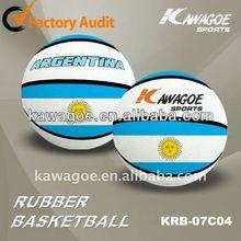 white basketball rubber