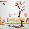 Jirafa zy216 mono león elefante zebraceramic flor decoración de la pared/decoración de hogar/extraíbles de la pared calcomanías 2013 nuevo