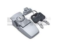 black or chrome plating zinc electrical cabinet hasp lock