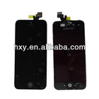Black Screen Assembly front glass for iPhone 5