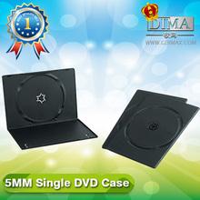 PP 5.2mm single black dvd case