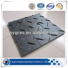 High Density PE Black ground mat Hdpe plastic