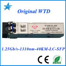 ultrasonic transceiver RTXM191-450 WTD 1.25G-1310nm-40km OPTICAL TRANSCEIVER SFP FIBER MODULE