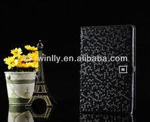 Cool Designed Shine Diamond Leather Case for Ipad Mini Cover
