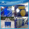 plastic waste PET bottle crushing purging line