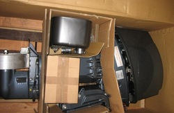 Yanmar D36 and D27 diesel outboard engine motor boat