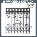 decorativos de hierro forjado ventana de diseño de la parrilla