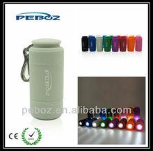 colorful usb led light flashing torch