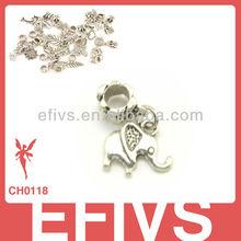 2013 New Fashion elephant charms 925 silver pendant charms
