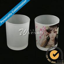 Sublimation Glass Coffee Mug, Small Frosted Glass Mug