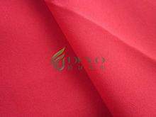 chiffon fabric imitated silk fabric light weight shinny fabric for women&
