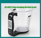 Milk & Flour Intelligent Weighing Measuring Cup Digital Kitchen Scale
