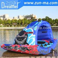water ski, inflatable water ski ring, inflatable water ski
