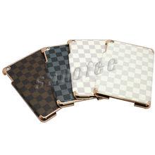 Hard case for iPad mini with leather skin