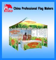 High quality custom printed waterproof pop-up tent