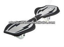 2 wheels wave street surfing rocking plastic board 2-wheels skateboard