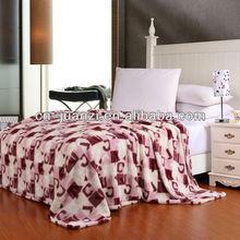 beautiful printed polyester blanket soogan