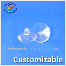 Double Mushroon Head PVC Suction Cups