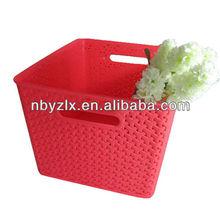 Plastic storage basket / Plastic storage bin / Heavy duty storage bins
