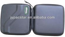 black Pu surface eva case