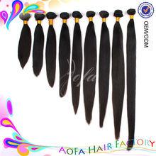 Great length 5A virgin peruvian straight hair hot sale