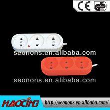 2013 hot seller American style extension socket